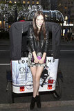 Coco Rocha is the queen of effortless glam — we love her printed shorts, Diesel leather jacket and that amazing Longchamp clutch that we. will. be. buying.