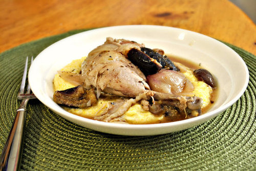White Wine Braised Chicken with Figs