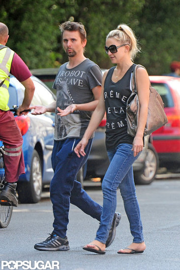 Kate Hudson and Matthew Bellamy Hit the Town in London