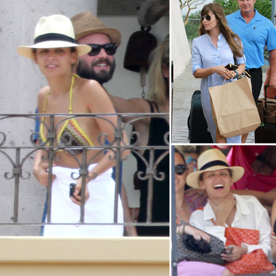 Nicole Richie Hangs in Her Bikini During a Cabo Trip With Jessica Biel