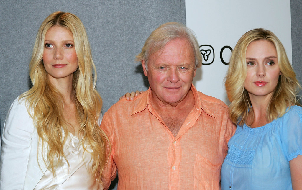 Gwyneth Paltrow, Sir Anthony Hopkins, and Hope Davis chatted with press about Proof in 2005.