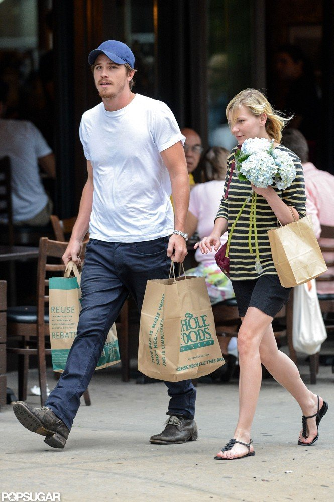 Kirsten Dunst and Garrett Hedlund Prep For Premieres Together
