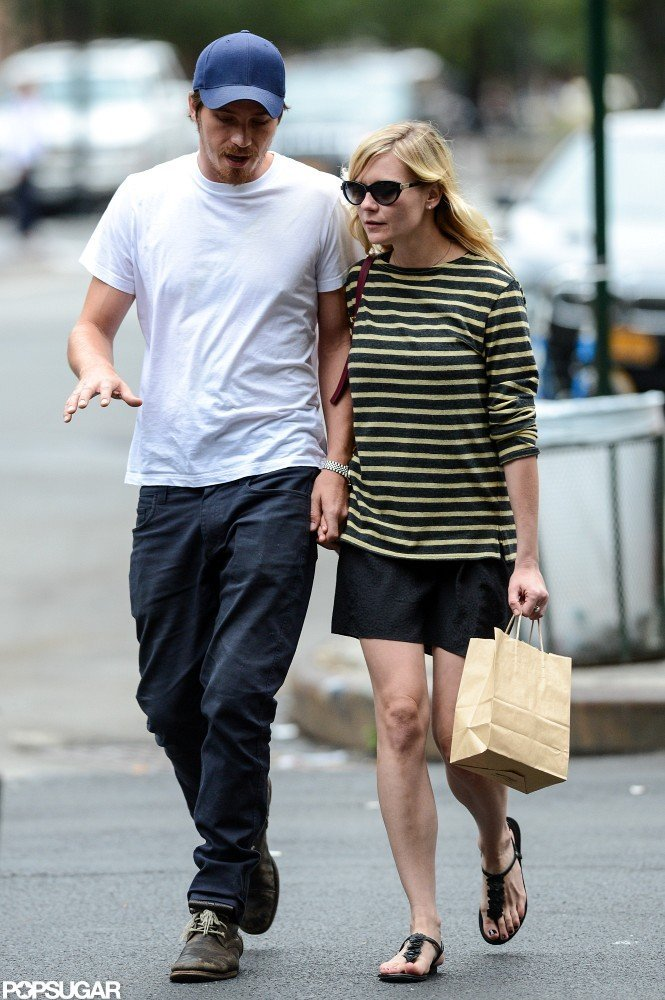 Kirsten Dunst and Garrett Hedlund were out and about in NYC together.