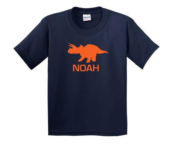 Personalized Triceratops Tee ($16)