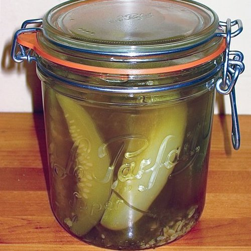 Pickles in Under Three Hours