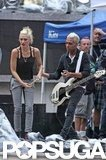 Gwen Stefani rehearsed with No Doubt in NYC.