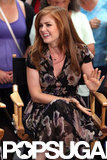 Isla Fisher talked about Bachelorette on Good Morning America in NYC.