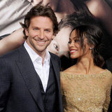 Zoe Saldana And Bradley Cooper At The Premiere of The Words