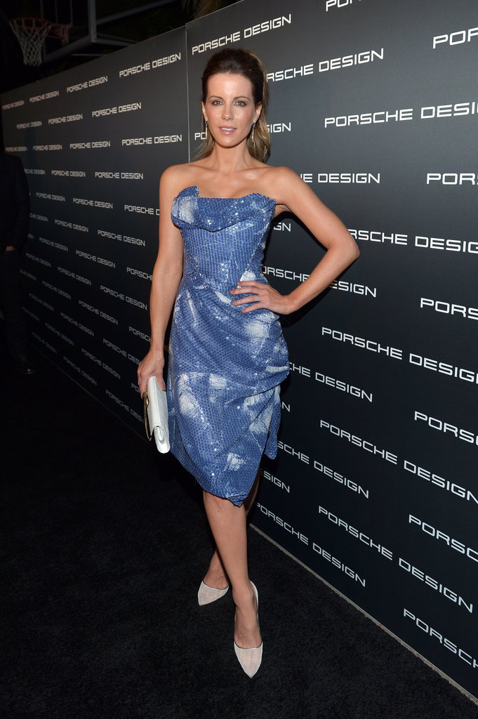 Kate Beckinsale arrived at the Porsche Design 40th Anniversary event in LA.