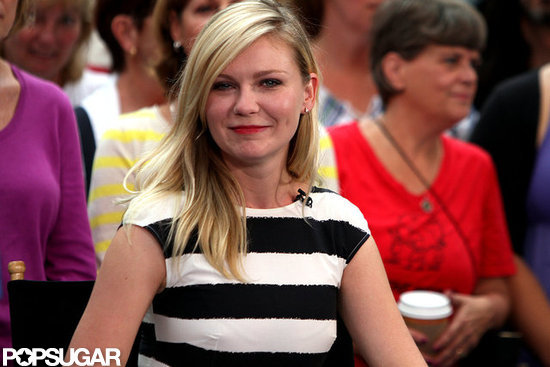 Kirsten Dunst visited Good Morning America to promote Bachelorette in NYC.