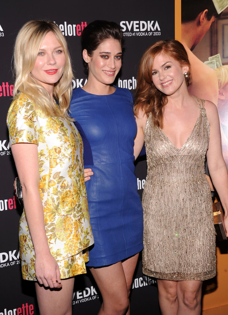 Isla Talks Sacha and Kirsten Shares New On the Road Info at Their NYC Premiere