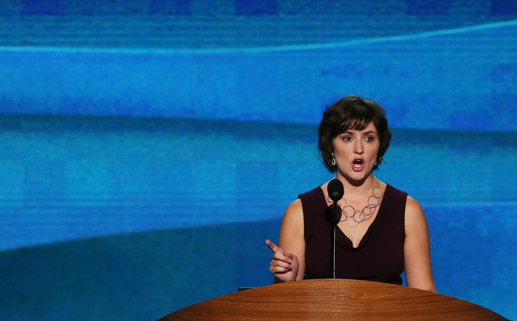 Sandra Fluke Has Her Moment