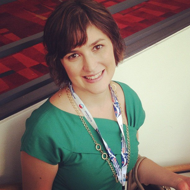 On Wednesday we spotted Sandra Fluke, a rising women's rights activist.