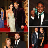 NRL Stars And Their WAGs Glam Up For The Dally M Awards