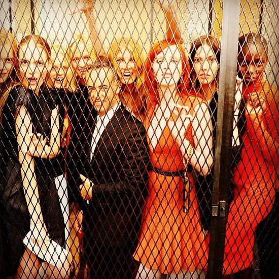 Francisco Costa, Karen Elson, and more at Calvin Klein