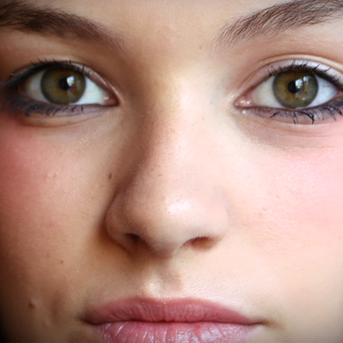 Behind the Scenes Video of Chris Benz's 2013 New York Fashion Week Makeup Test