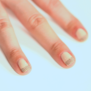 DIY Fishnet Nail Art Manicure