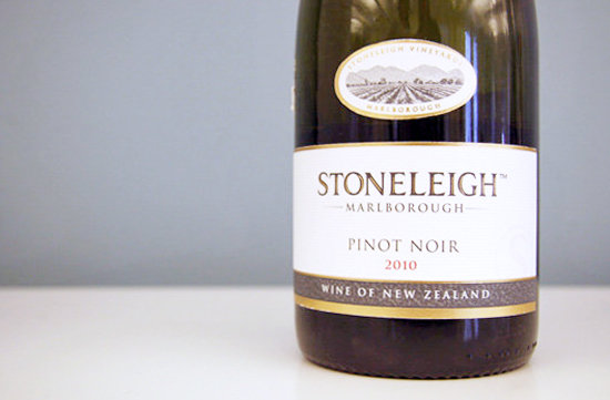 July 9: 2010 Stoneleigh Marlborough Pinot Noir