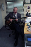 Creed (Creed Bratton) will be on lead acoustics this season.