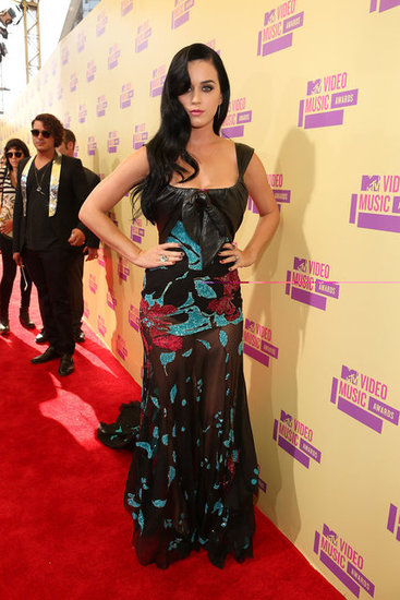 Katy Perry Sparkles and Goes Sheer For the VMAs