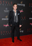 Ed Westwick looked dapper for the Style Awards.