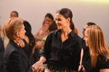 Katie Holmes was in attendance to honor Carolina Herrera at the Style Awards.