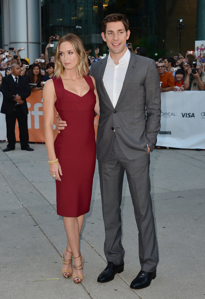 TIFF On the Scene: John Krasinski and Emily Blunt Get Cute For Looper
