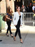 Emma Watson Has a Stylish Start to Her Wallflower Promo Tour