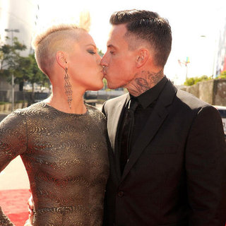 Pink and Carey Hart at MTV VMAs 2012
