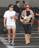 Katherine Heigl Returns Home With Baby Adalaide in Her Arms