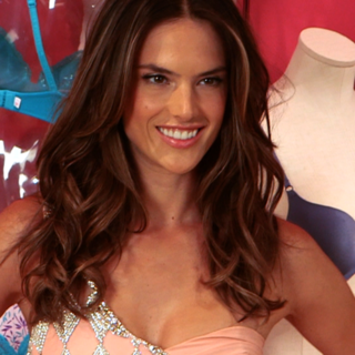 Alessandra Ambrosio at Fashion's Night Out Interview