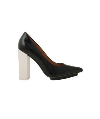 A modern, minimalist take to contrast a pretty Fall dress.  3.1 Phillip Lim Miho Pump ($495)