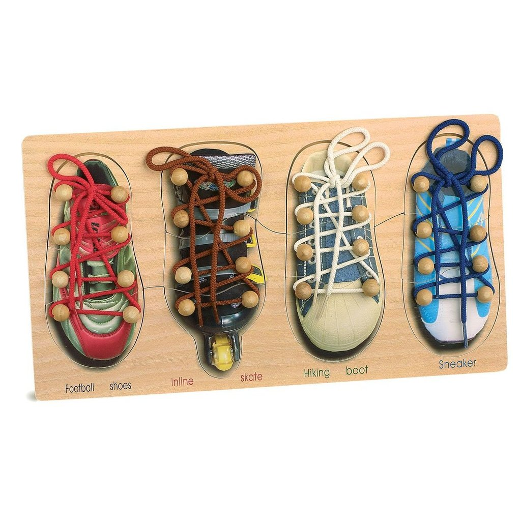 Tying Shoes and Laces ($21)