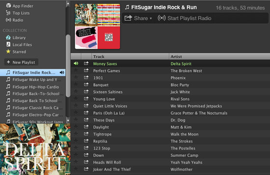 how to set up playlists on spotify