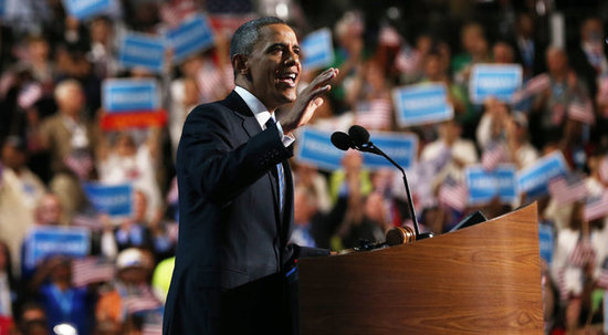 Video: See Highlights From Barack Obama's DNC Speech!