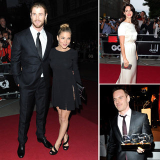 All The Pictures From The GQ Men Of The Year Awards: Chris Hemsworth, Michael Fassbender & More