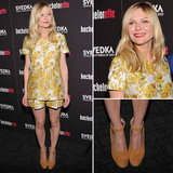 Pictures of Kirsten Dunst in Stella McCartney Resort 2013 Short Suit at The Bachelorette New York Premiere