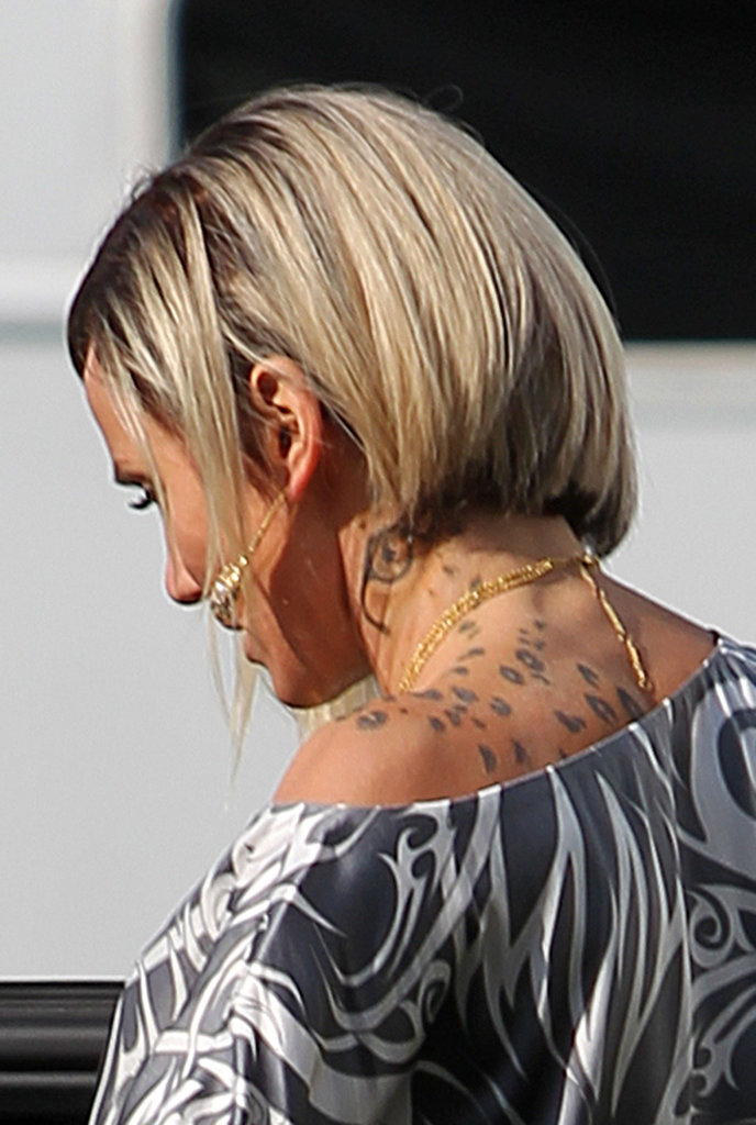 Cameron Diaz sported a neck tattoo for her role in The Counselor.