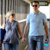 Pregnant Reese Witherspoon With Her Husband in LA