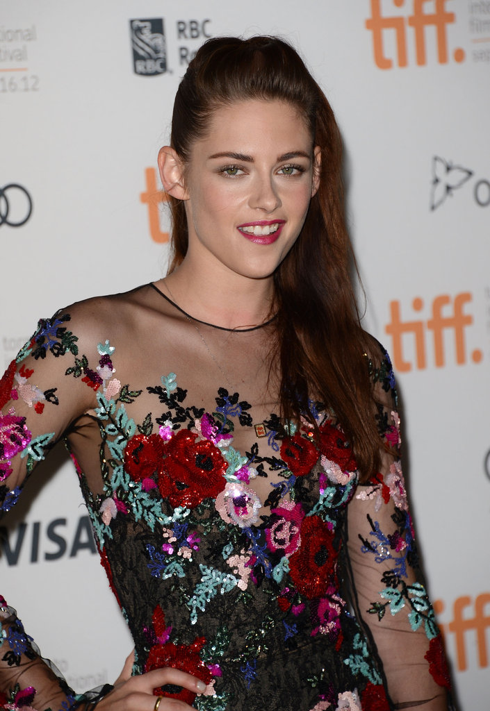 Kristen Stewart Hits the Red Carpet in Toronto