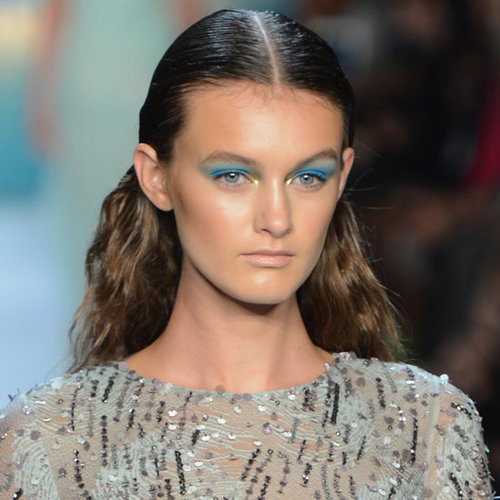 Monique Lhuillier Spring 2013 Hair and Makeup