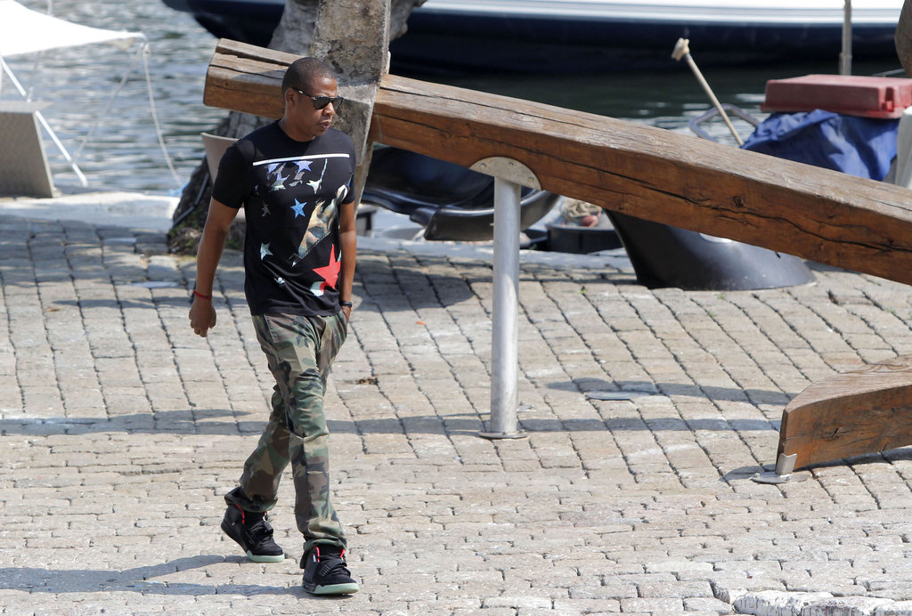 Beyoncé and Jay-Z Finish Their French Vacation With Blue