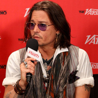 Johnny Depp at the Toronto Film Festival
