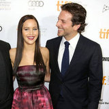 Jennifer Lawrence With Dark Hair at Toronto Film Festival