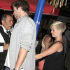 Miley Cyrus and Liam Hemsworth Holding Hands at Troubadour in LA