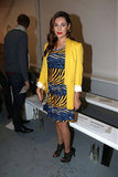 Kelly Brook went bright for Zoe Jordan.