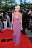 Naomi Watts wore Elie Saab on the red carpet.