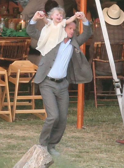 Neil Patrick Harris had some fun with his daughter, Harper Burtka-Harris, at the wedding.
