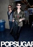 Anne Hathaway and Adam Shulman flew together.