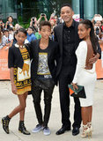 The Smith clan are one well-dressed family — but Willow, we want your Balmain booties the most.